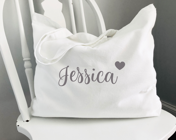 Personalised Canvas Marina Bags