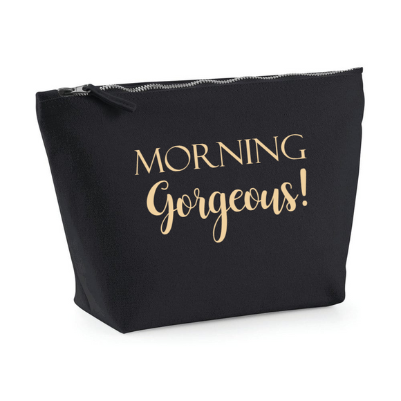 Morning Gorgeous. Make up bag
