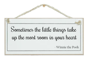 The little things...Winnie the Pooh
