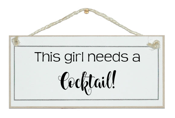 This girls needs...cocktail