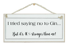 ...No to gin, 40% stronger!
