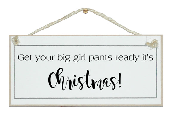 Big girl's pants ready...sign