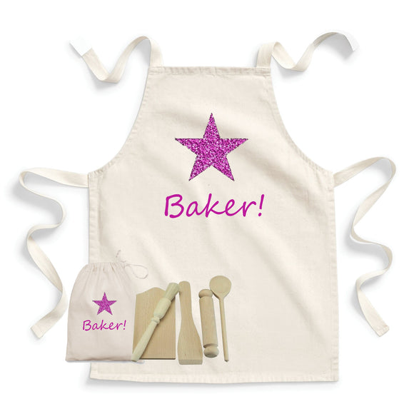 Star Baker Baking Sets & Apron