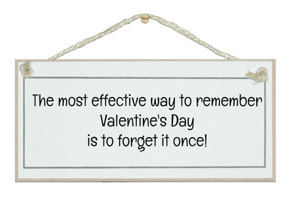 Remember Valentine's Day