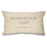 Reserved for....Natural Long Cushion