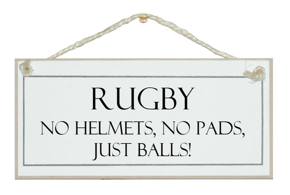 Rugby...just balls!