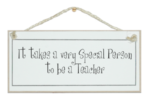 Someone special to be a teacher...