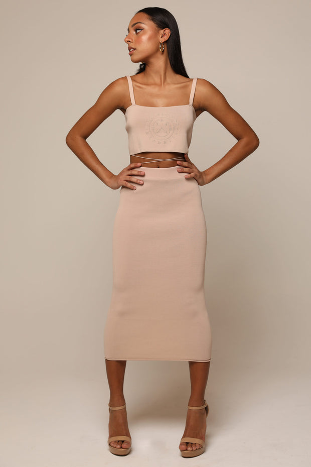 THE QUARTZ KNITTED SKIRT