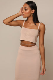 THE QUARTZ KNITTED CROP