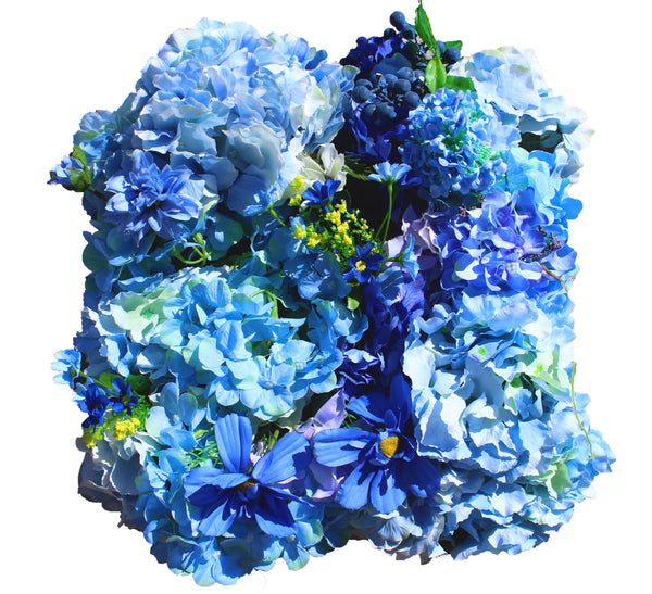 Something Blue Flower Wall