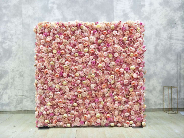 Blush Pink Flower Wall Orange County