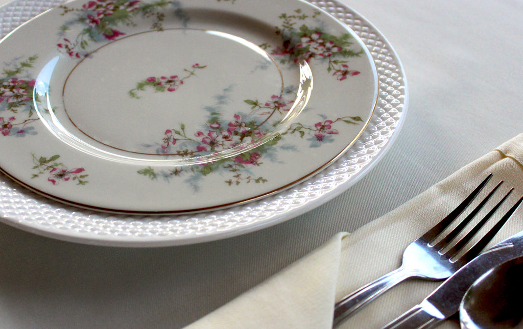 Vintage Luncheon Plates