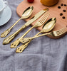Gold Flatware Rental Los Angeles