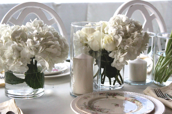 Cylinder Vases & Pillar Candle Holders