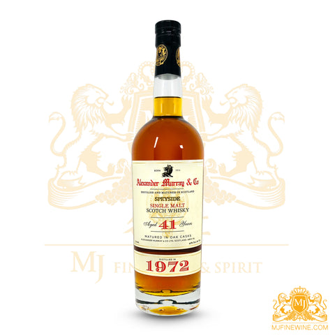 Alexander Murray Speyside 40yr Single Malt 1972 750ml