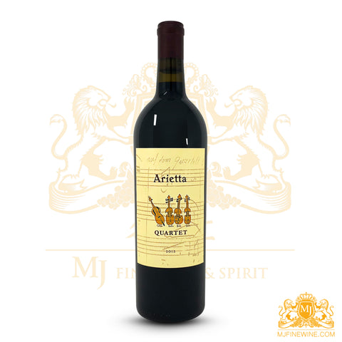 Arietta Quartet 2012 Red 750ml