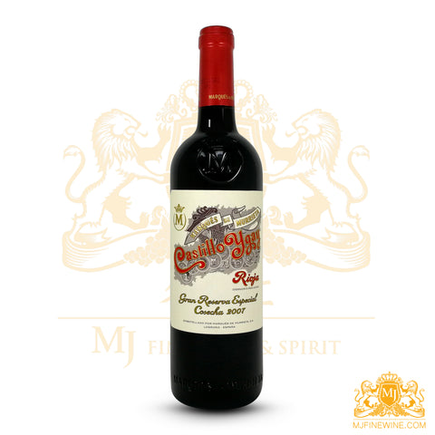 Marques de Murrieta Castillo Ygay Gran Reserva 2007 750ml