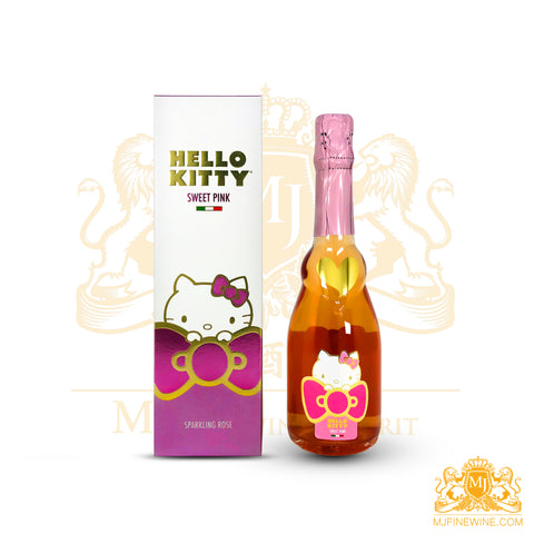 Hello Kitty Sweet Pink Rose with Gift Box 375ml