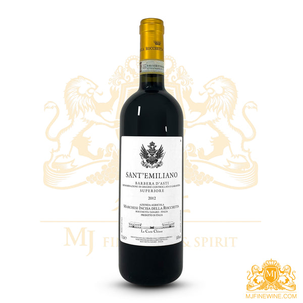 Sant' Emiliano 2012 Barbera 750ml