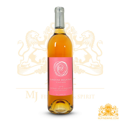 Sunshine Mountain 2015 Cabernet Sauvignon Rose 750ml