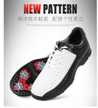 Load image into Gallery viewer, New PGM golf shoes Waterproof breathable shoes microfiber leather shoes men's Golf slip Octopus spikes