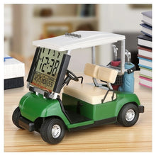Load image into Gallery viewer, Caiton LCD display mini golf cart clock for golf Fans great gift for golfers race souvenir novelty golf gifts