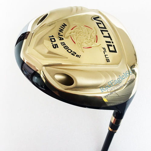 Cooyute New Golf clubs Katana Voltio PLUS driver 9.5 or 10.5 loft Katana Voltio Golf driver Graphite Golf shaft Free shipping