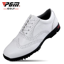 Load image into Gallery viewer, PGM golf shoes male head cowhide cowhide PEG shoes and PGM brand shoe men