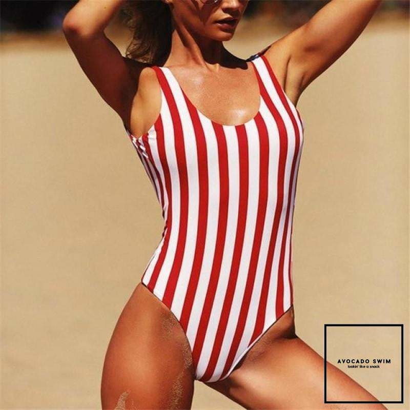 Avo Hamptons Monokini One Piece