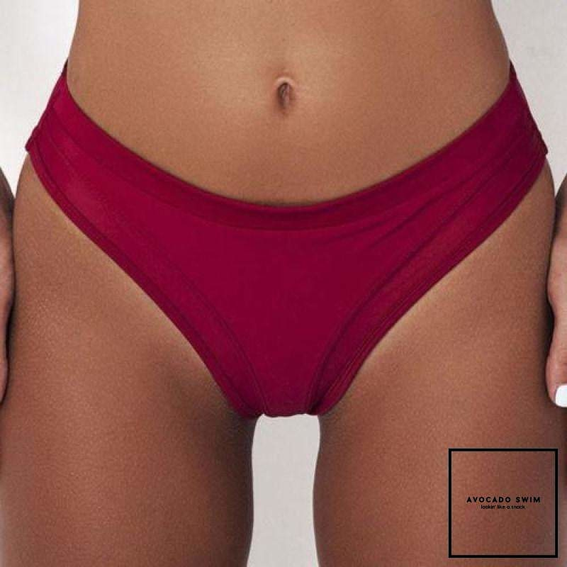 Avo Kylie Free Bottoms Wine Red / S Bottoms