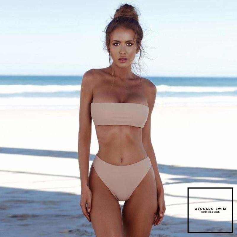 Avo No Strings Attached Nude Pink / L Bikini