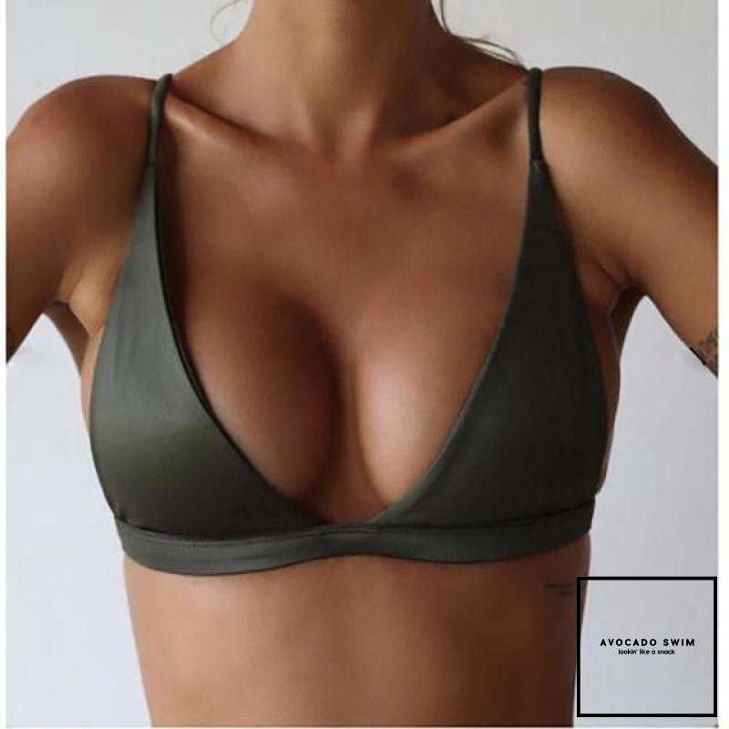 Avo Original Top (Free) Army Green / S Top