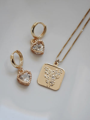 Forever Love Necklace & Earring Set
