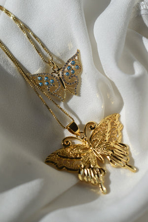 The Audrina Metamorphosis Necklace - 14k Gold Filled