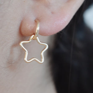 The Venessa Star Earrings - 14k Gold Filled