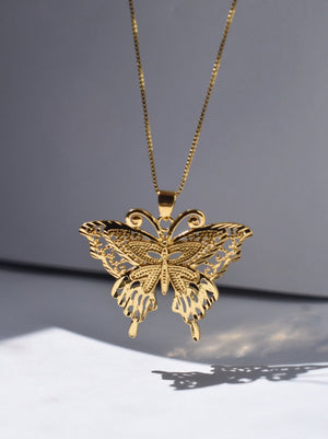 The Olivia Monarch Butterfly - 14k Gold Filled