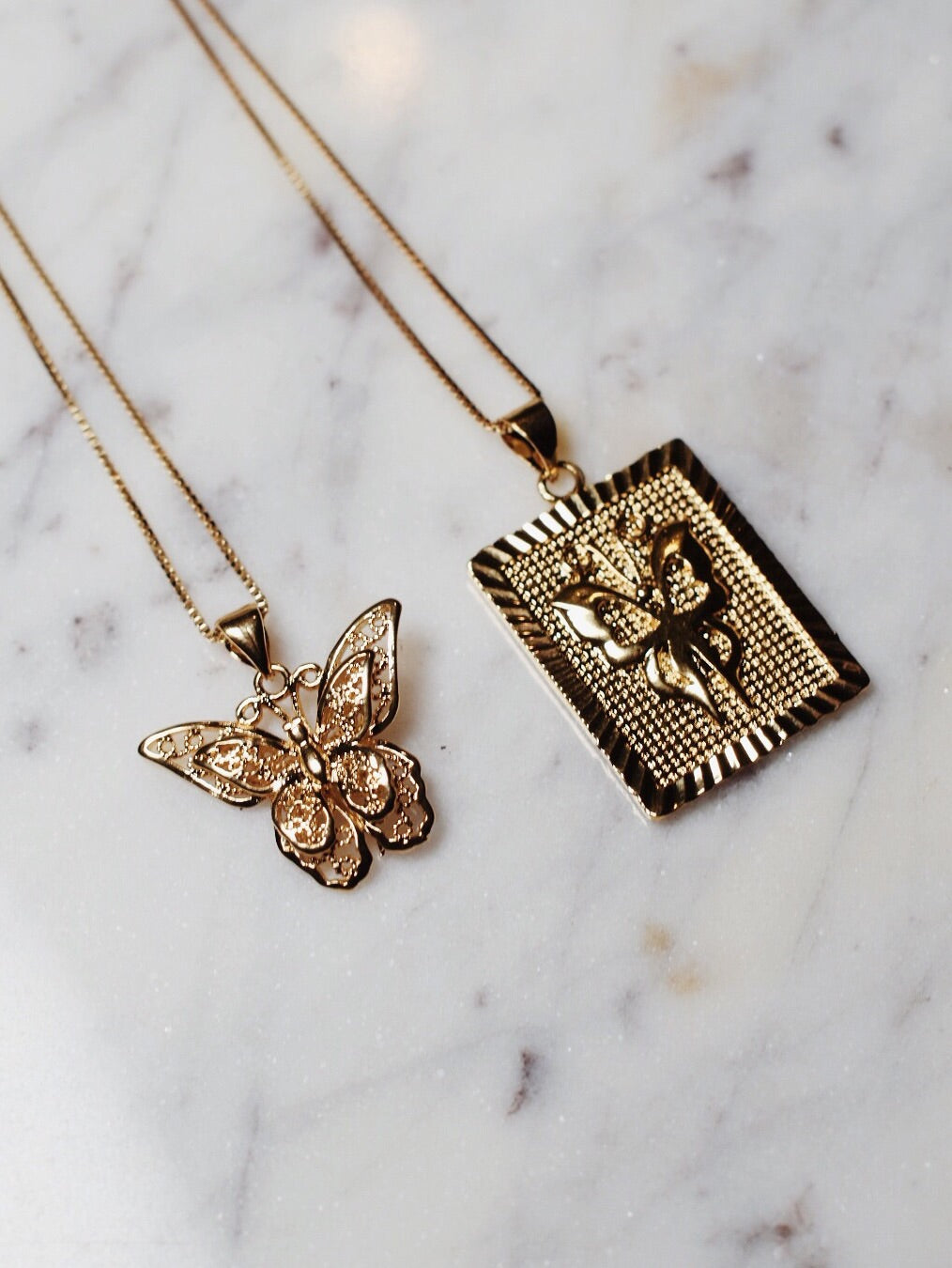 The Vivienne Butterly Set - 14k Gold Filled