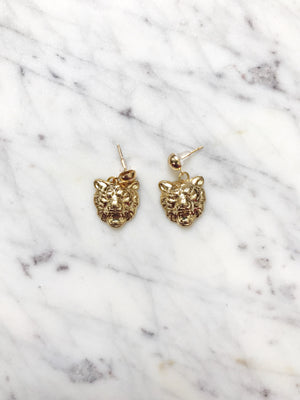 The Savannah Ball Post Earring Set