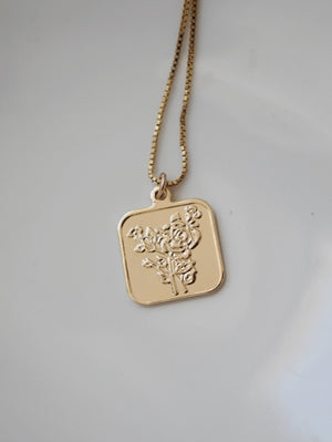 14k Gold Filled The Forever Love Tag Necklace