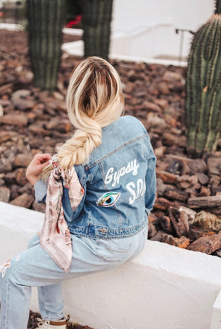 Island Vibes Denim Jacket