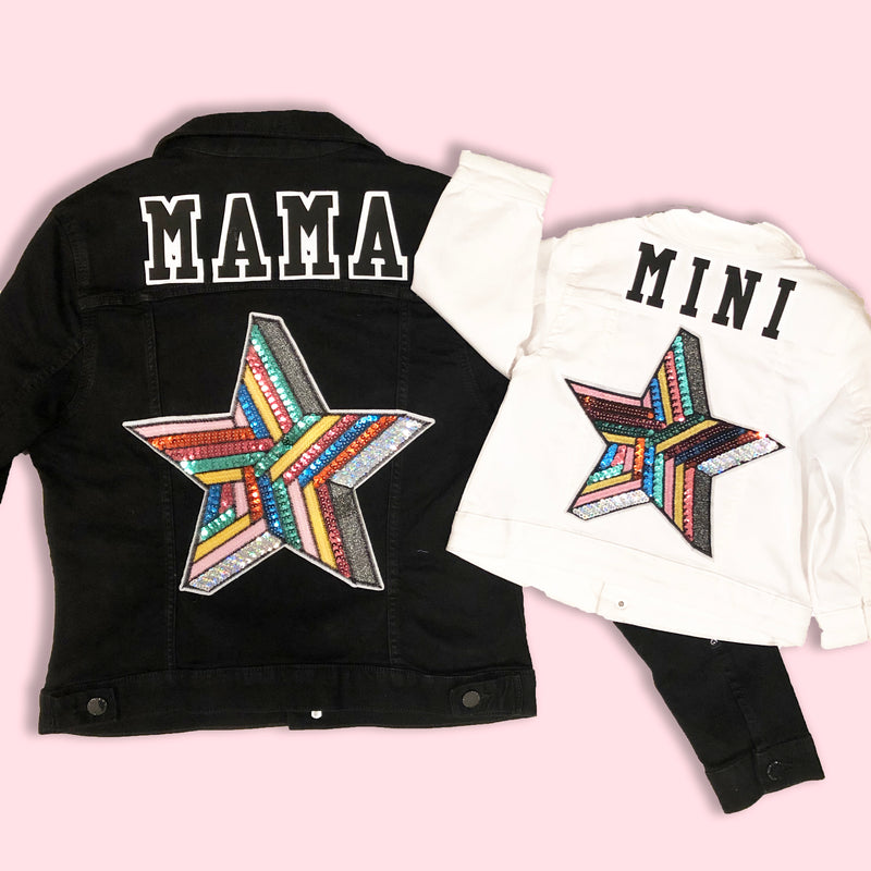 Mama Star Denim Jacket