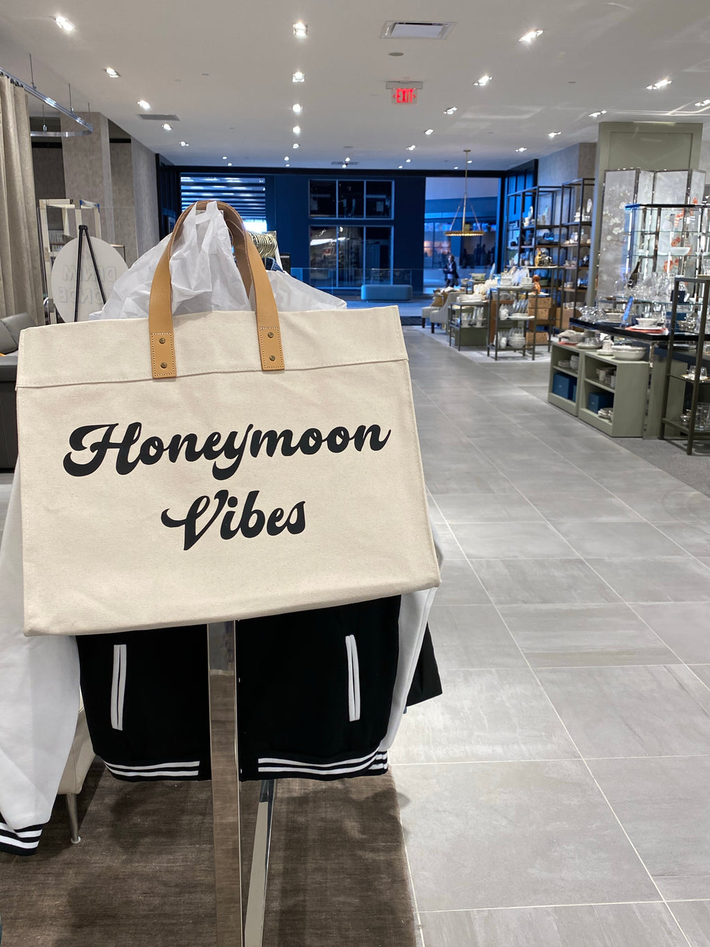 Honeymoon Vibes Weekender Tote