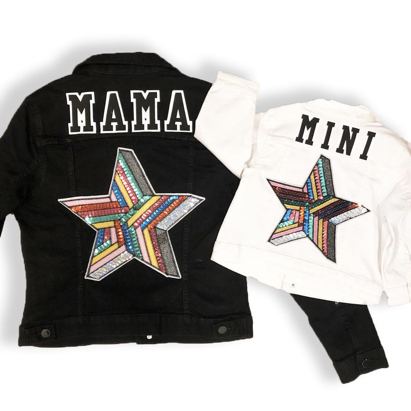 Mini Star Denim Jacket