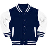 Kids Custom Navy Varsity Jacket