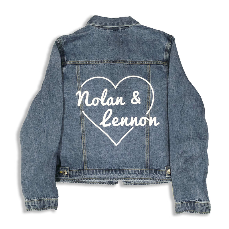 Name in Hearts Jacket
