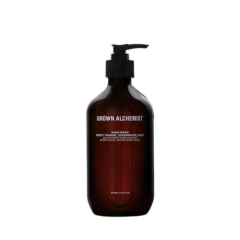 Hand Wash: Sweet Orange, Cedarwood, Sage