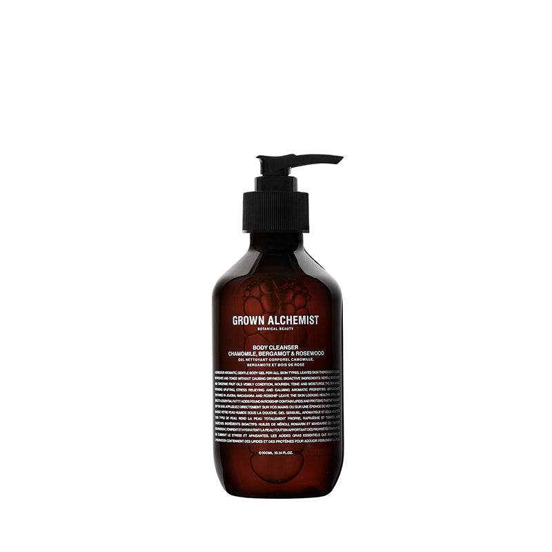 Body Cleanser: Chamomile, Bergamot, Rose 300ml