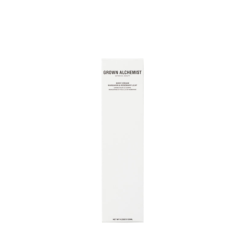 Body Cream: Mandarin, Rosemary Leaf 120ml