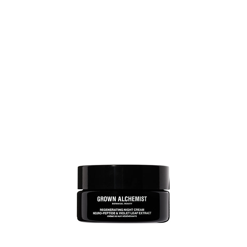 Regenerating Night Cream: Neuro-Peptide, Violet Leaf Extract