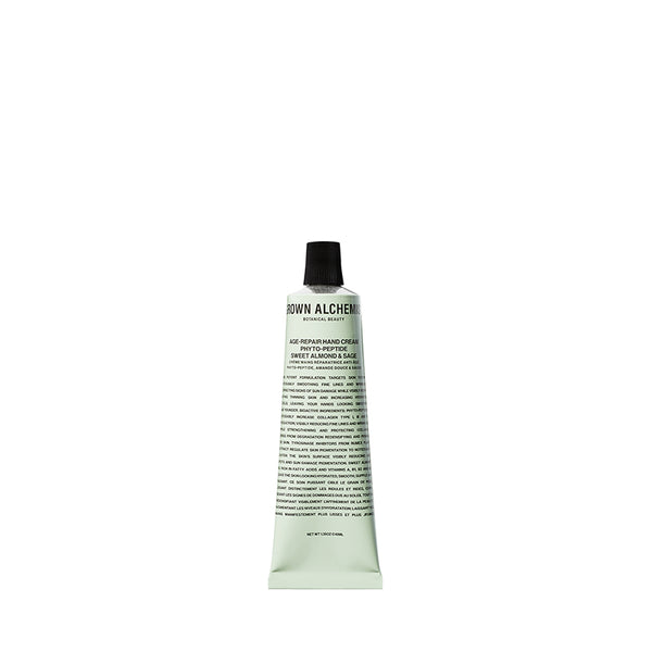 Age-Repair Hand Cream: Phyto-Peptide, Sweet Almond, Sage